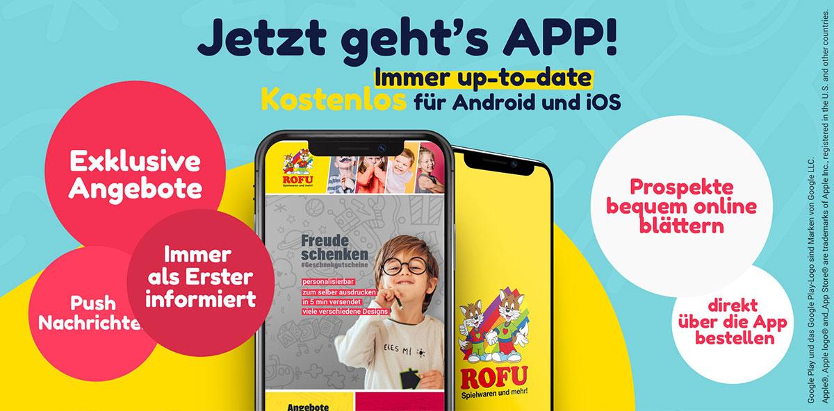 Die ROFU App