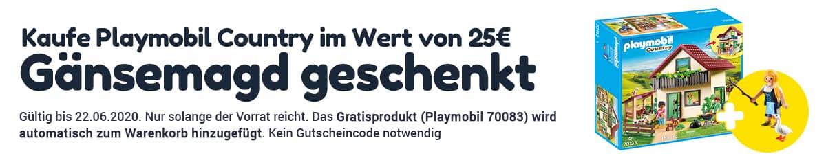 Playmobil Aktion Gansemagd