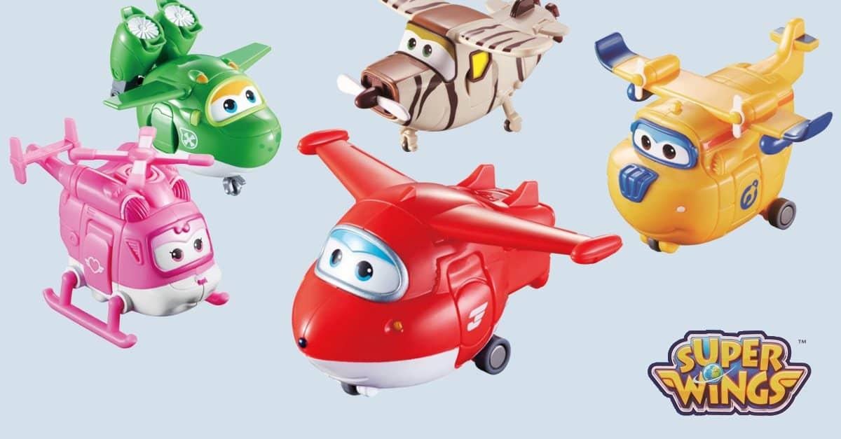 Super Wings Flugzeuge