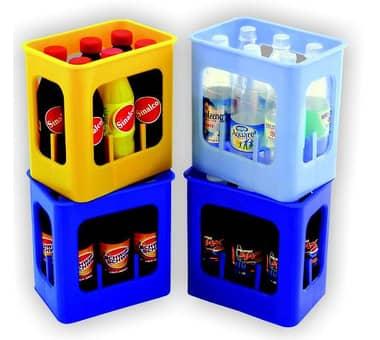 kleine Getränke Kiste Spielzeug