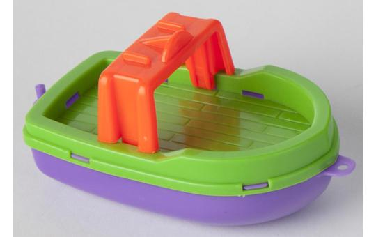 Boote für die Badewanne - 12x7x6 cm - 3 Stück