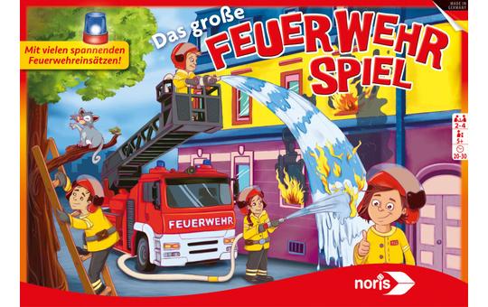 Das große Feuerwehr-Spiel - Brettspiel