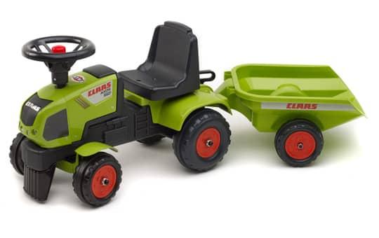 Rutscherfahrzeug - Falk Traktor Claas mit Anhänger - 1012B