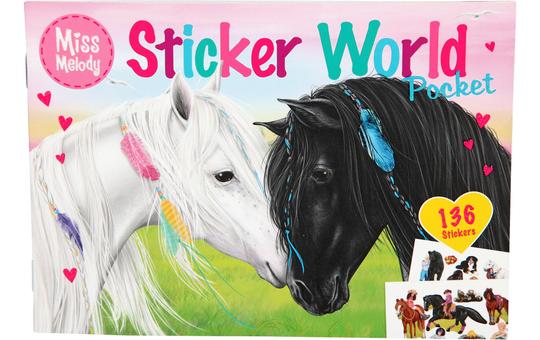 Miss Melody - Stickerworld Pocket - Pferde