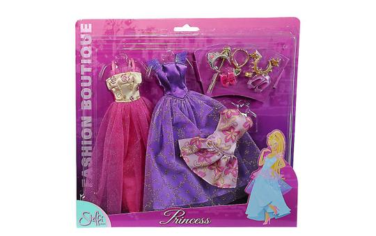 Steffi Love Princess Fashion - Kleider für Modepuppen