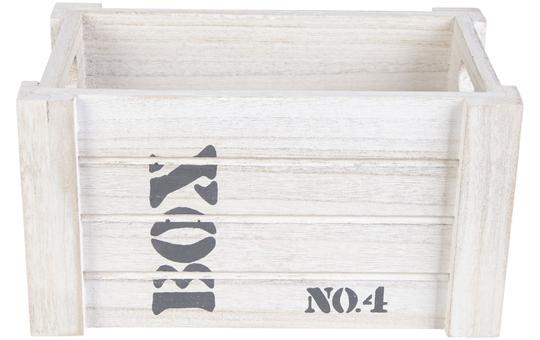 Deko-Kiste - aus Holz - in S