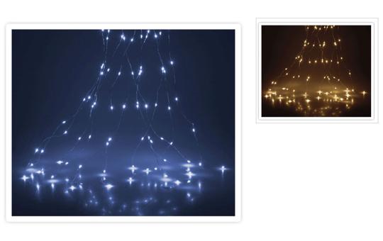 100er LED-Lichterdraht - 5 m - verschiedene Ausführungen