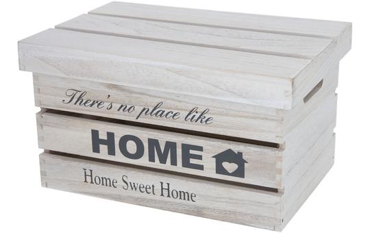 Dekokiste - aus Holz - 36 x 25 x 20 cm