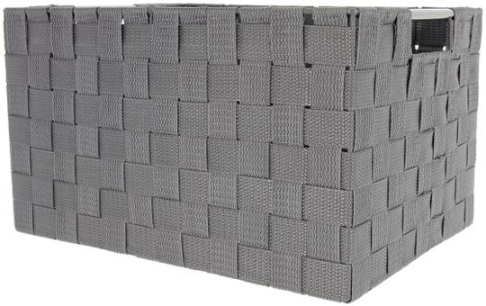 Aufbewahrungskorb - grau - 30 x 20 x 18 cm
