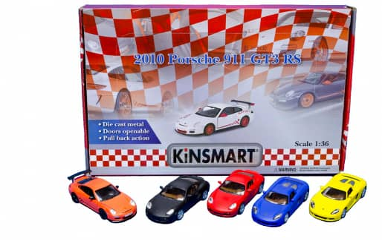 Spielzeugauto von Porsche - verschiedene Modelle - 1:36 - 1 Stück