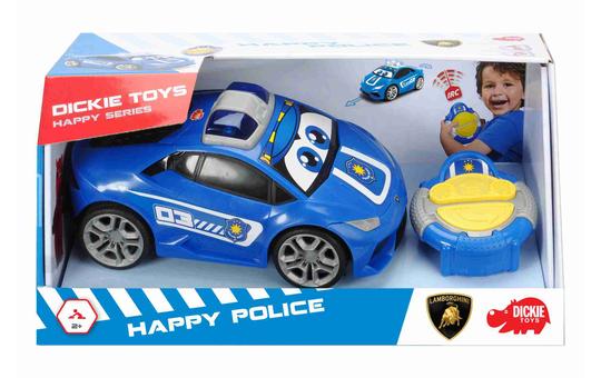 Dickie - RC Polizeiauto - Happy Police - Lamborghini