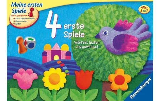 4 erste Spiele Ravensburger