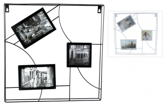 Wanddeko - Bilderrahmen - 40 x 3,5 x 40 cm - 1 Stück