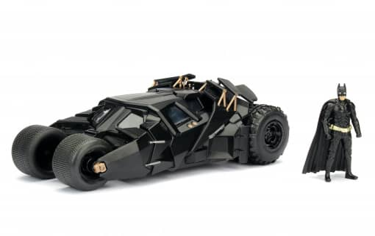 Jada - Batmobil mit Batman-Figur - aus The Dark Knight