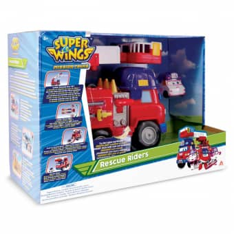 Super Wings - Spielset - Rescue Riders