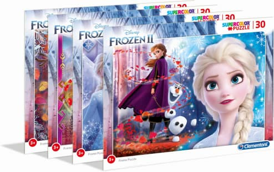 Die Eiskönigin 2 - Rahmenpuzzle - 30 Teile - Supercolor - 1 Stück