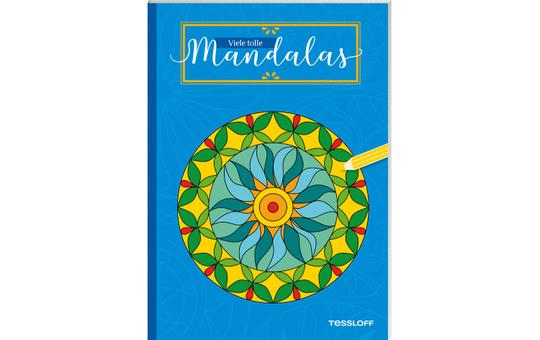 Viele tolle Mandalas