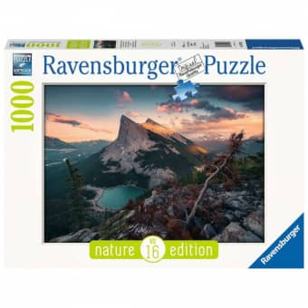 Puzzle - Abends in den Rocky Mountains - 1000 Teile