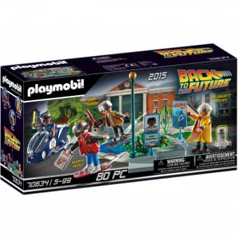 Playmobil® 70634 - Back to the Future Part II Verfolgung mit Hoverboard - Playmobil® Back to the Future