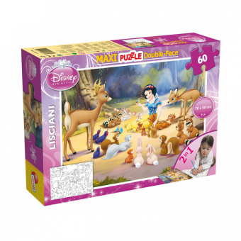 Disney Schneewittchen  - Maxi Puzzle - Double Face - 2-in-1