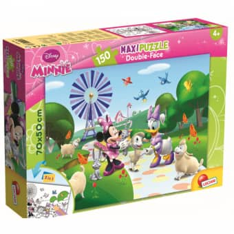 Minnie Mouse - Maxi Puzzle - Double Face - 2-in-1