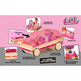 L.O.L. Surprise 3-in-1 Party Cruiser