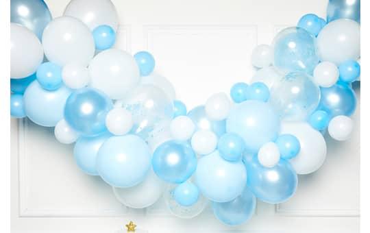 DIY Ballongirlande - Blau - 70 Stück