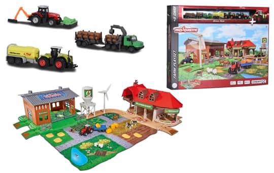 Dickie - Creatix Farm Set - inkl. 5 Fahrzeugen