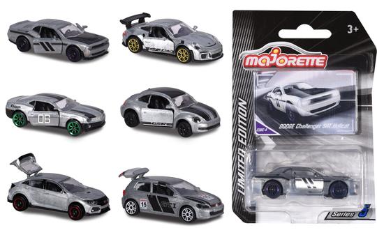 Limited Edition 5 - Silbernes Fahrzeug - 1 Stück