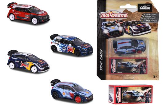 WRC - Rallyefahrzeug - 1 Stück