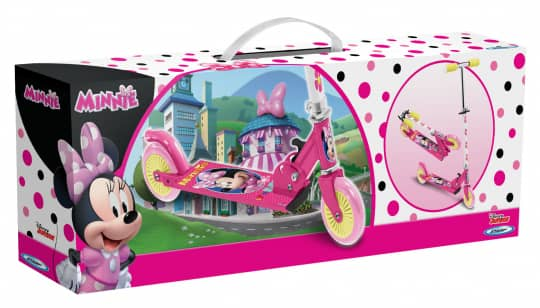 Stamp - Scooter - Minnie Mouse
