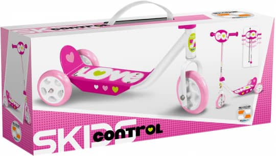 Stamp - Scooter - 3-2-1 Go - pink
