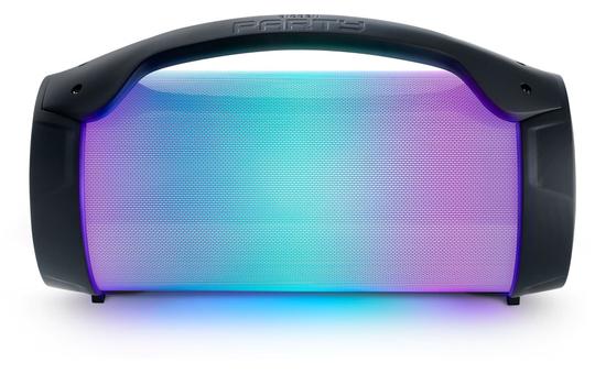 Bluetooth Lautsprecher mit Discolicht und separatem Mikro - Akku betrieben