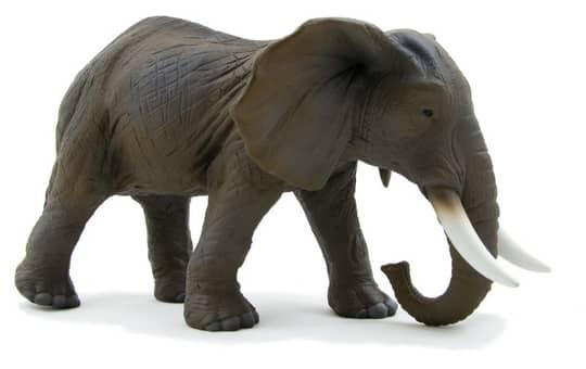 Besttoy Wildlife - Afrikanischer Elefant - Spielfigur 387001