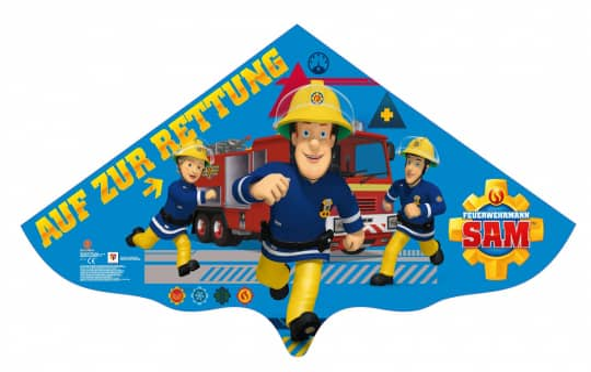 Drachen - Feuerwehrmann Sam - ca. 115 cm
