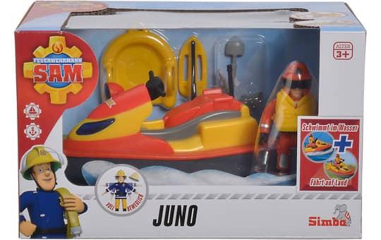 Feuerwehrmann Sam - Juno Jetski mit Figur