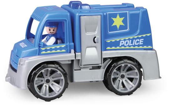 LENA®TRUXX - Polizeifahrzeug mit Figur