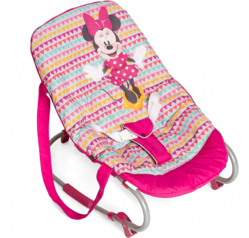 Hauck - Wippe Rocky - Minnie Mouse - Geo Pink