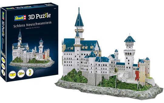 3D Puzzle - Schloss Neuschwanstein - 121 Teile