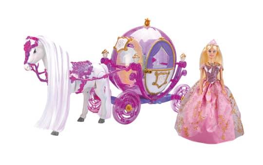 Prinzessinnenkutsche - lila - mit Funktion
