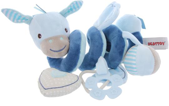 Besttoy - Plüsch Spirale - blau