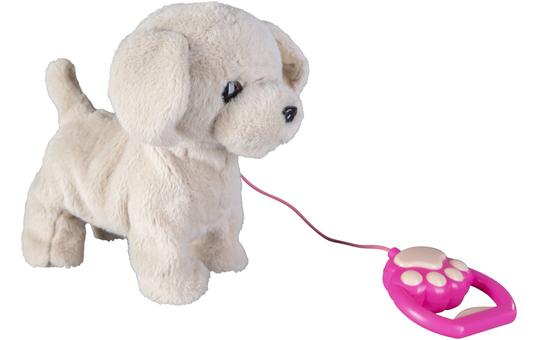 Besttoy - Plüschhund mit Funktion - beige