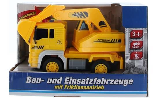 Besttoy - Bau- und Einsatzfahrzeug - LKW mit Baggeraufsatz