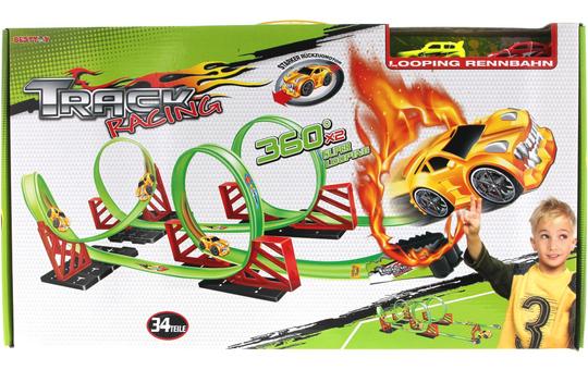 Besttoy - Track Racing - Rennbahn - 34 teilig