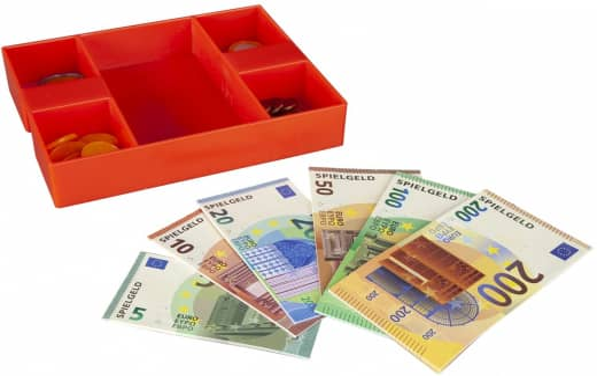 Besttoy - Geldkassette mit Euro-Spielgeld