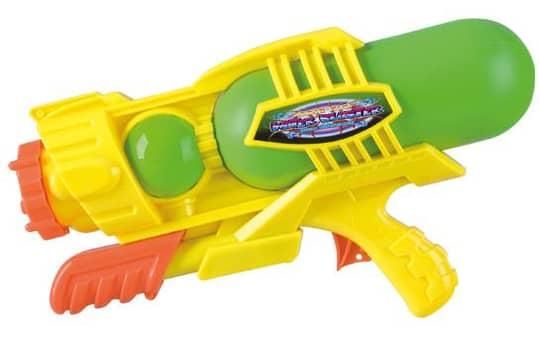 Wasserpistole mit Pump Action