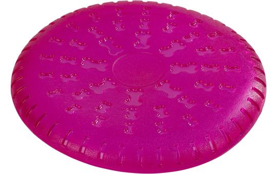 Hundespielzeug - Wurfscheibe - pink