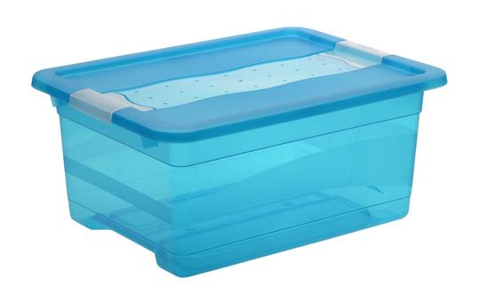 Kristallbox - blau - 12L