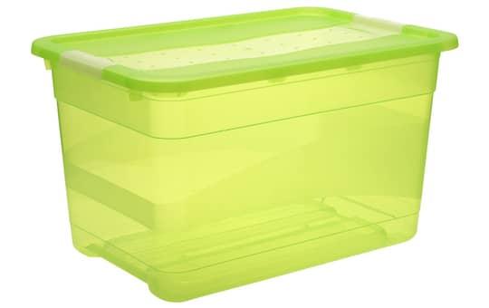Kristallbox - grün - 52L