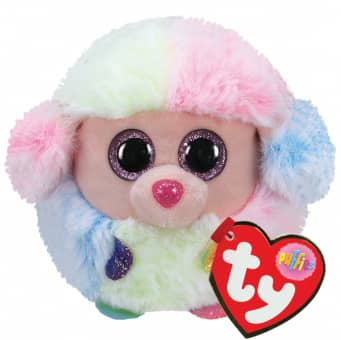Ty Puffies - Pudel Rainbow - 7 cm